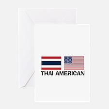 Thai American Greeting Card