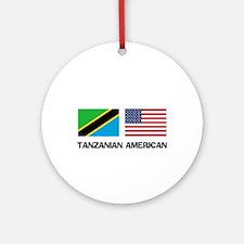 Tanzanian American Ornament (Round)