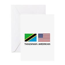 Tanzanian American Greeting Card