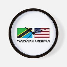 Tanzanian American Wall Clock