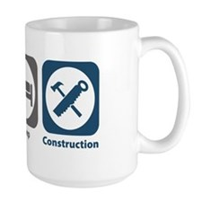 Eat Sleep Construction Mug