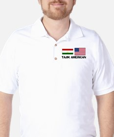 Tajik American Golf Shirt