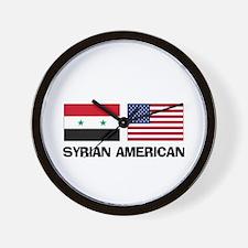 Syrian American Wall Clock