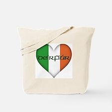 Sister in Gaelic (Heart) Tote Bag