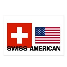Swiss American Postcards (Package of 8)