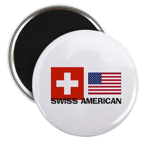 "Swiss American 2.25"" Magnet (10 pack)"