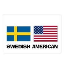 Swedish American Postcards (Package of 8)