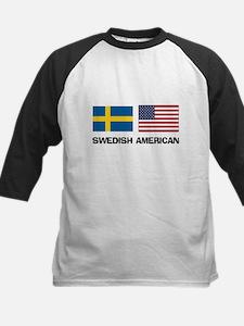 Swedish American Kids Baseball Jersey