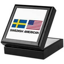 Swedish American Keepsake Box