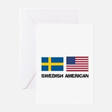 Swedish American Greeting Cards (Pk of 10)