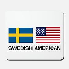 Swedish American Mousepad