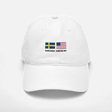 Swedish American Baseball Baseball Cap