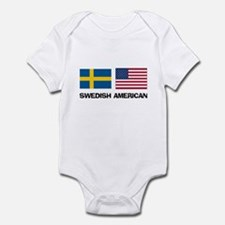Swedish American Infant Bodysuit