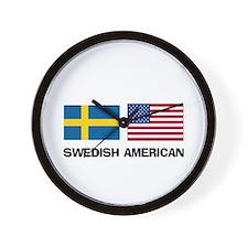 Swedish American Wall Clock