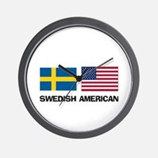 Swedish American Wall Clock