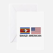 Swazi American Greeting Card