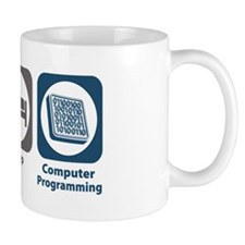 Eat Sleep Computer Programming Mug