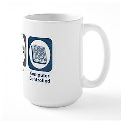 Eat Sleep Computer Controlled Mug