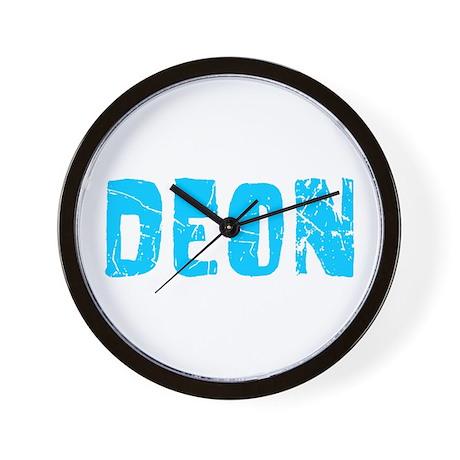 Deon Faded (Blue) Wall Clock