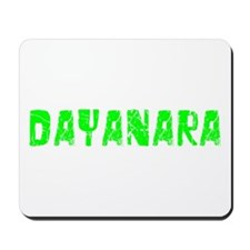 Dayanara Faded (Green) Mousepad