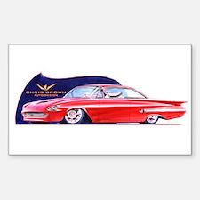 Impala Rectangle Decal