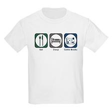 Eat Sleep Comic Books T-Shirt