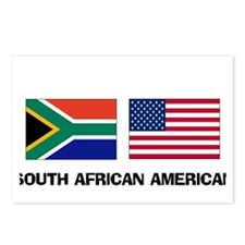 South African American Postcards (Package of 8)