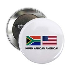 """South African American 2.25"""" Button"""