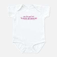 Run Triplets Two Infant Bodysuit
