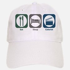 Eat Sleep Colorist Baseball Baseball Cap
