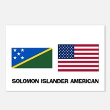Solomon Islander American Postcards (Package of 8)