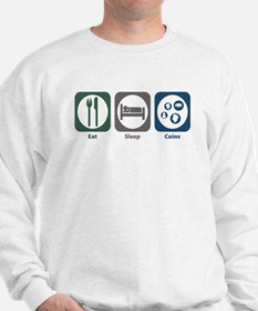 Eat Sleep Coins Sweatshirt