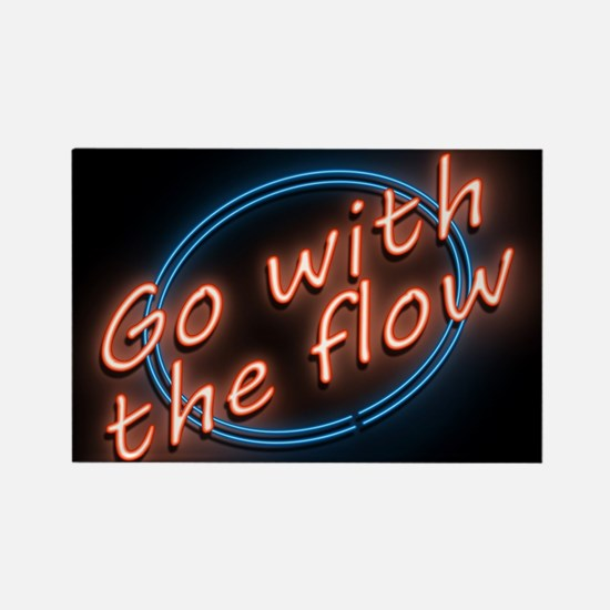 Go with the flow. Magnets
