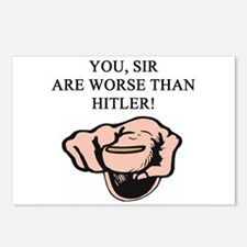 hitler gifts t-shirts Postcards (Package of 8)