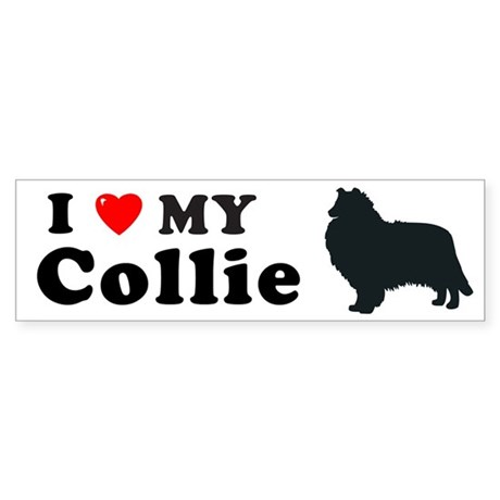 COLLIE-ROUGH Bumper Sticker
