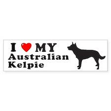 AUSTRALIAN KELPIE Bumper Bumper Sticker