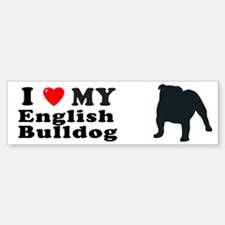 ENGLISH BULLDOG Bumper Bumper Bumper Sticker
