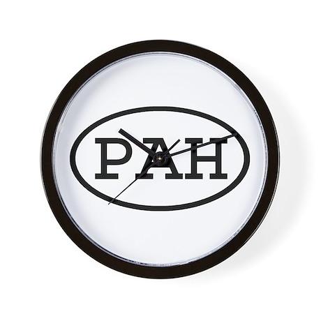 PAH Oval Wall Clock