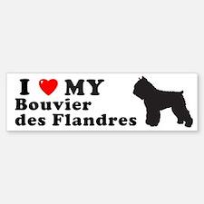 BOUVIER DES FLANDRES Bumper Bumper Bumper Sticker