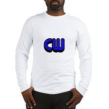 CW (Morse Code) Long Sleeve T-Shirt