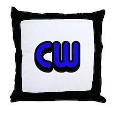 CW (Morse Code) Throw Pillow