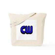 CW (Morse Code) Tote Bag
