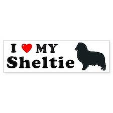 SHELTIE PUP Bumper Bumper Sticker