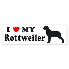 ROTTWEILER Bumper Bumper Sticker