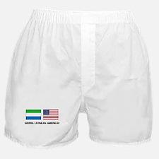 Sierra Leonean American Boxer Shorts
