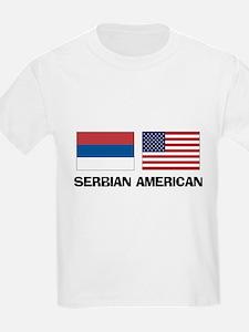 Serbian American T-Shirt