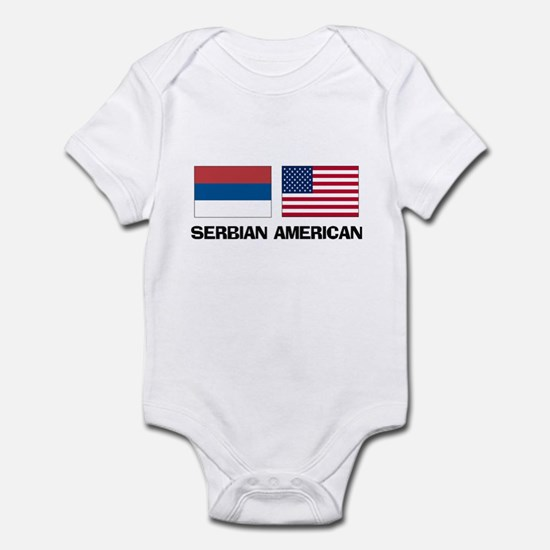 Serbian American Infant Bodysuit