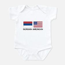 Serbian American Onesie