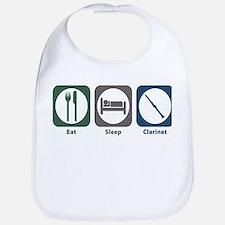Eat Sleep Clarinet Bib