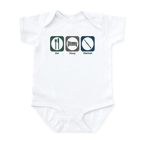 Eat Sleep Clarinet Infant Bodysuit